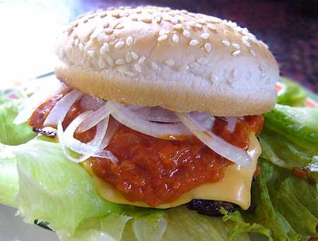 hamburger ハンバーガー