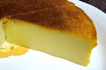 今回はうまくいったチーズケーキ