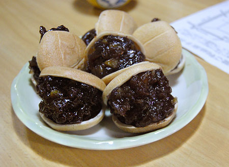 三由屋菓子店の栗最中!!