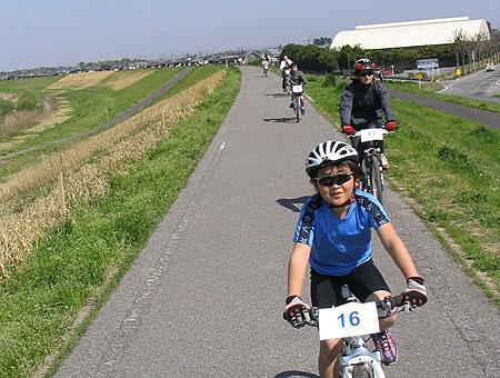 野田+渡良瀬遊水周遊100kmサイクリング the TRYangle60+