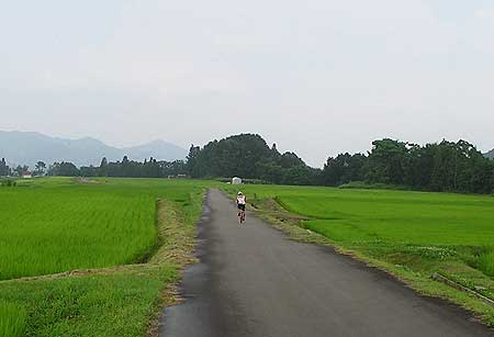栄村の風景
