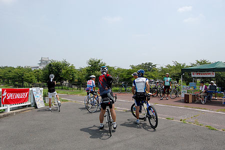 関宿城で試乗会
