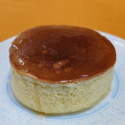 厚さ5cmのホットケーキ