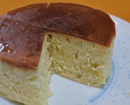 ふんわりホットケーキ
