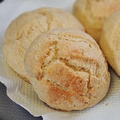 メロンパン風な焼き菓子