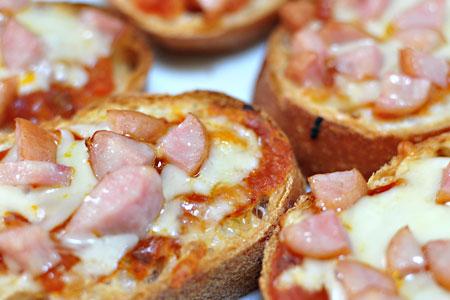ちっちゃいピザ