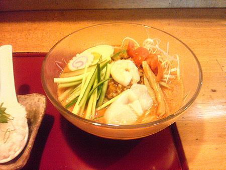 野田「麺屋 紅葉」の冷し坦々麺