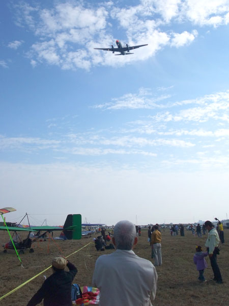 空まつり2010 下総基地のYS-11