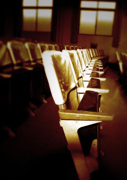 興風会館のホール