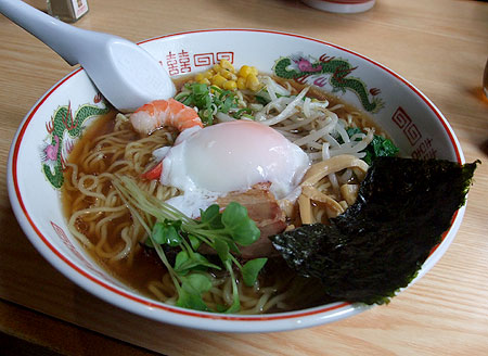 栄村「松海寿司」のラーメン